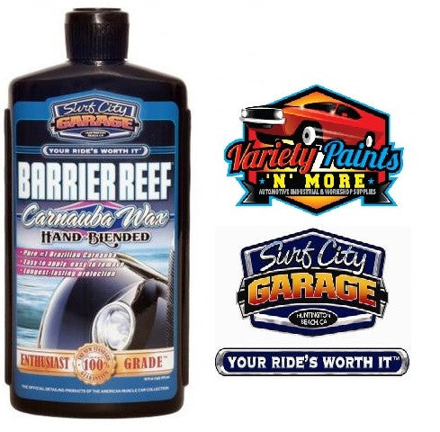 Barrier Reef Carnauba Wax 16oz 473ml Surf City Garage
