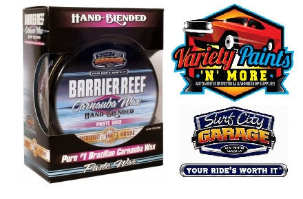 Barrier Reef Carnauba Paste Wax Kit 12oz Surf City Garage