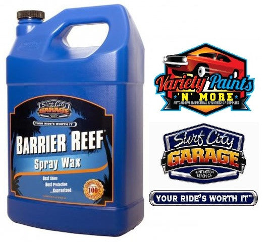 Barrier Reef Carnauba Spray Wax 1 Gallon 3.78 Litre Surf City Garage