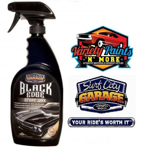 Black Edge Spray Wax 24oz 709ml Surf City Garage Variety Paints N More