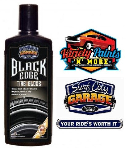 Black Edge Tire Gloss 8oz Surf City Garage