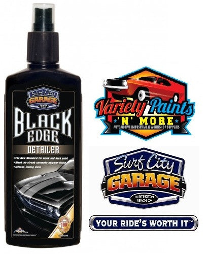 Black Edge Detailer 8oz 243ml Surf City Garage