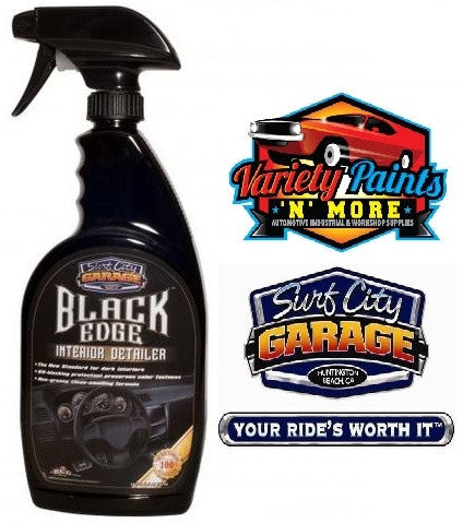 Black Edge Interior Detailer Spray 24oz Surf City Garage