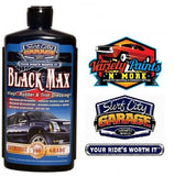 Black Max Vinyl , Rubber & Trim dressing 16oz Surf City Garage