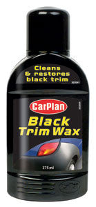 CarPlan Black Trim Wax 375ml