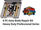 6 PC Auto Body Repair Kit Heavy Duty Professional Series