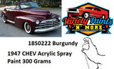 18S0222 Chev 47 Burgundy Acrylic Custom Spray Paint 300 Grams