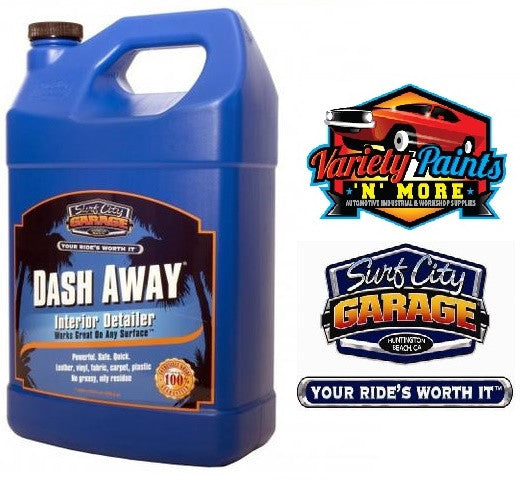Dash Away Interior Detailer 1 Gallon Surf City Garage