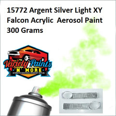 15772 Argent Silver Light XY Falcon Acrylic  Aerosol Paint 300 Grams