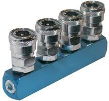 Geiger 4 Way Quick Coupler Inline