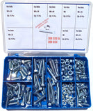 Torres Mild Steel Bolts & Nuts 150 Pieces