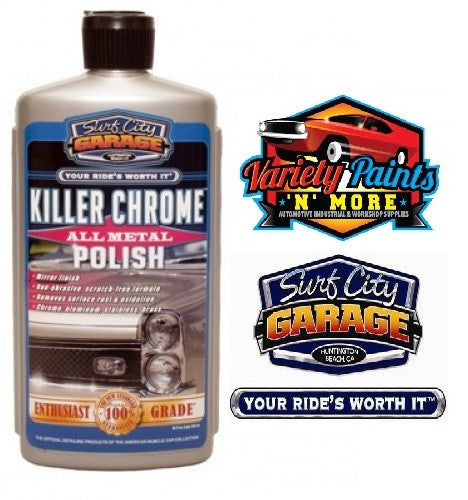 Killer Chrome Perfect Polish 16oz Surf City Garage