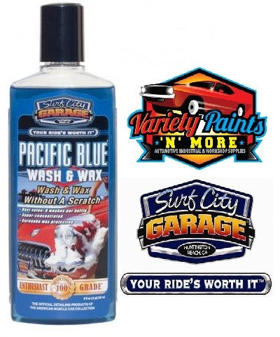 Pacific Blue Wash & Wax Surf City Garage 8oz 240ml
