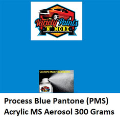 Process Blue Pantone (PMS) Acrylic MS Spray Paint 300 Grams