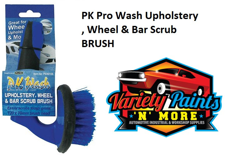 PK Pro Wash Upholstery , Wheel & Bar Scrub BRUSH