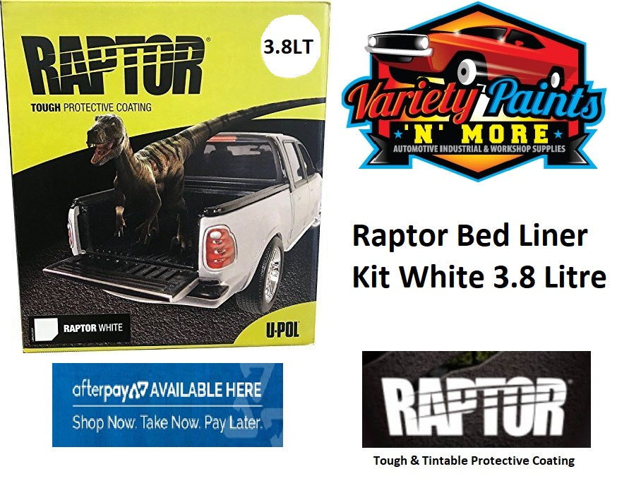 Upol Raptor Bed Liner Kit White 3.8 Litre