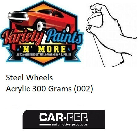 Steel Wheels Acrylic 300 Grams (002)