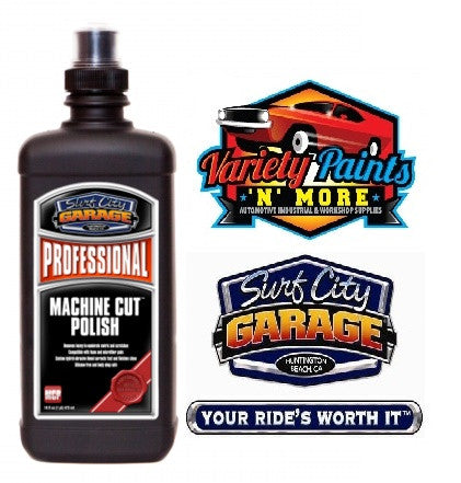 Professional Machine Cutting Polish 473ml Surf City Garage