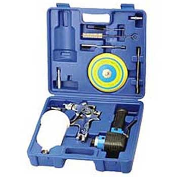 1.4mm Gravity Spray Gun & 150mm Dual Action Sander Kit