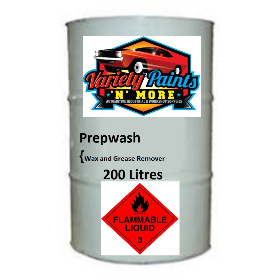 Variety Paints Wax & Grease Remover 200 Litre (Prepwash)