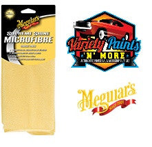 Meguiars Supreme Shine Microfibre Cloth Yellow Single