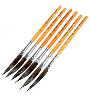 Kontor Dagger Liners Paint Brush Size 4