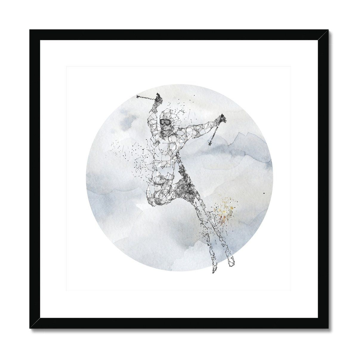 ski Framed & Mounted Print