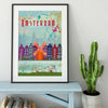 Amsterdam Travel  Art Print
