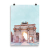 Brandenburg Gate Berlin keepsake art print