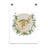 Capricorn HOROSCOPE FINE ART PRINT