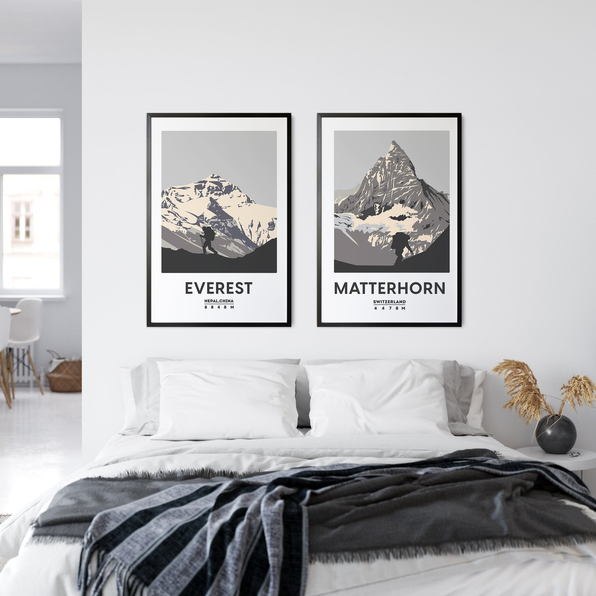 EVEREST UNFRAMED ART PRINT