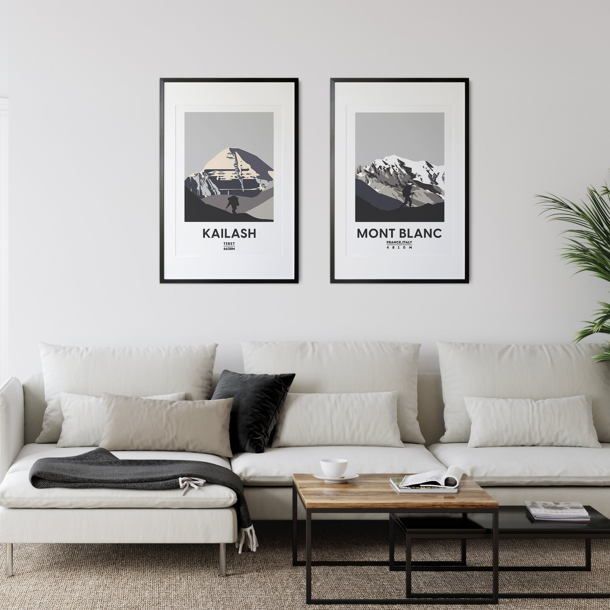 Kailash UNFRAMED ART PRINT