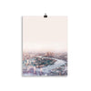 London seen from the air art print