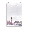 London River Thames art print