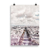 I love Paris, Cityscape art print