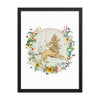 Leo Framed fine art print