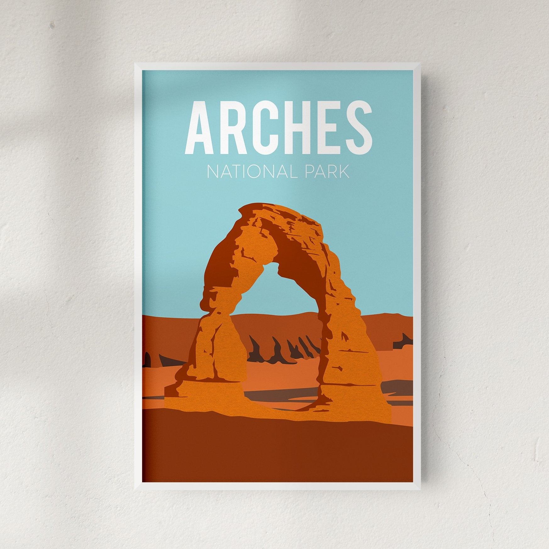 Arches National Park, USA, fine art travel print