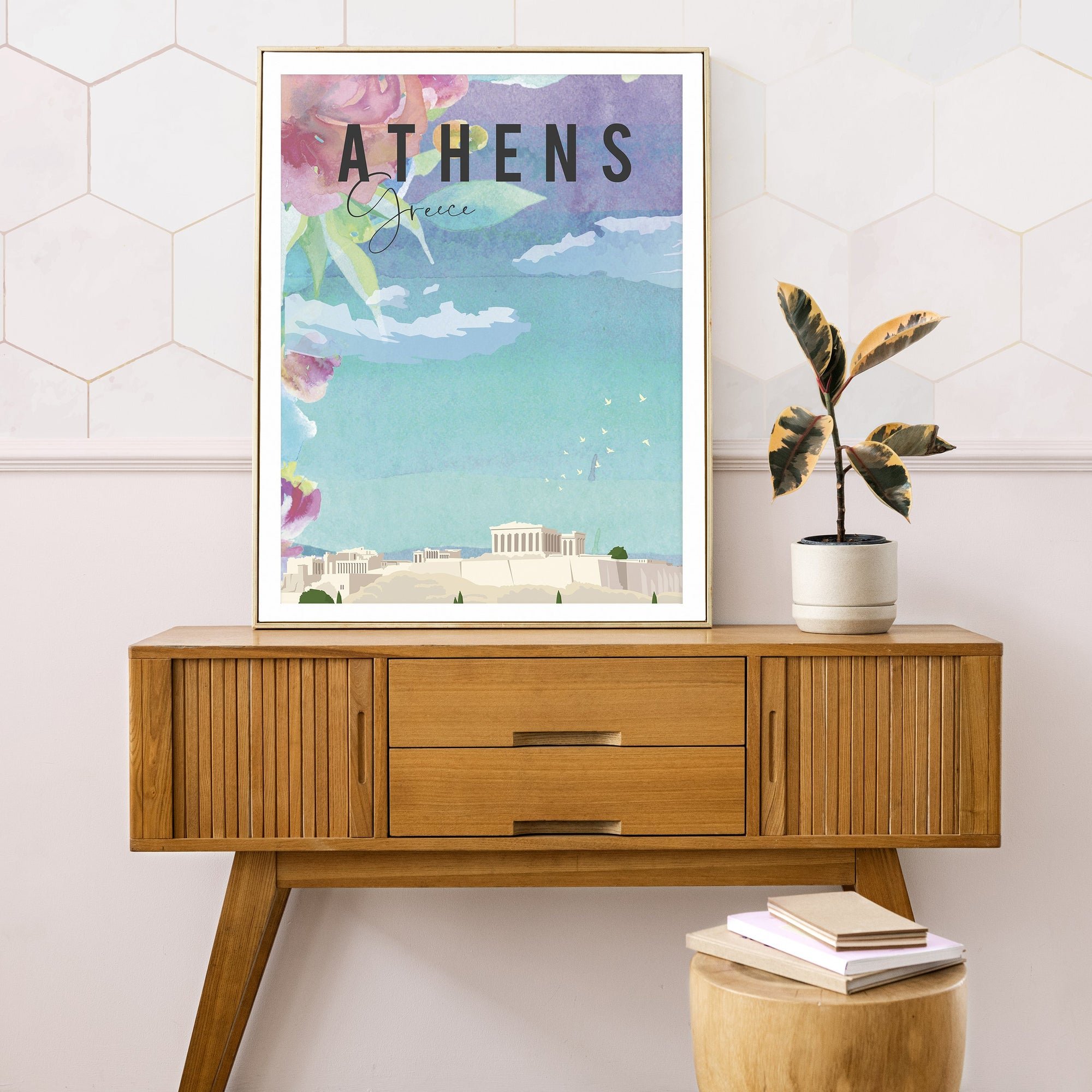 Athens, Greece, fine art travel print