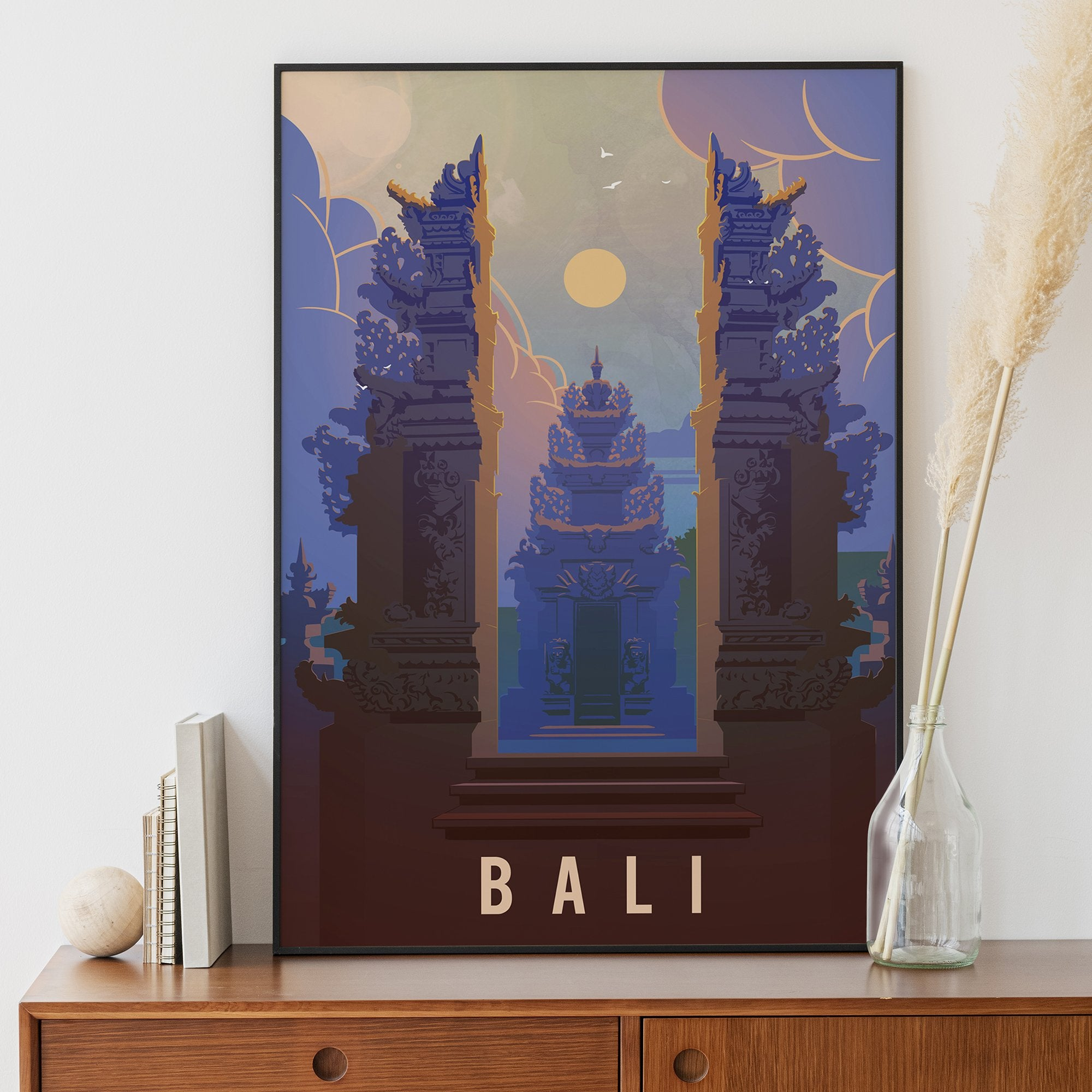 Bali, Indonesia temple fine art travel print