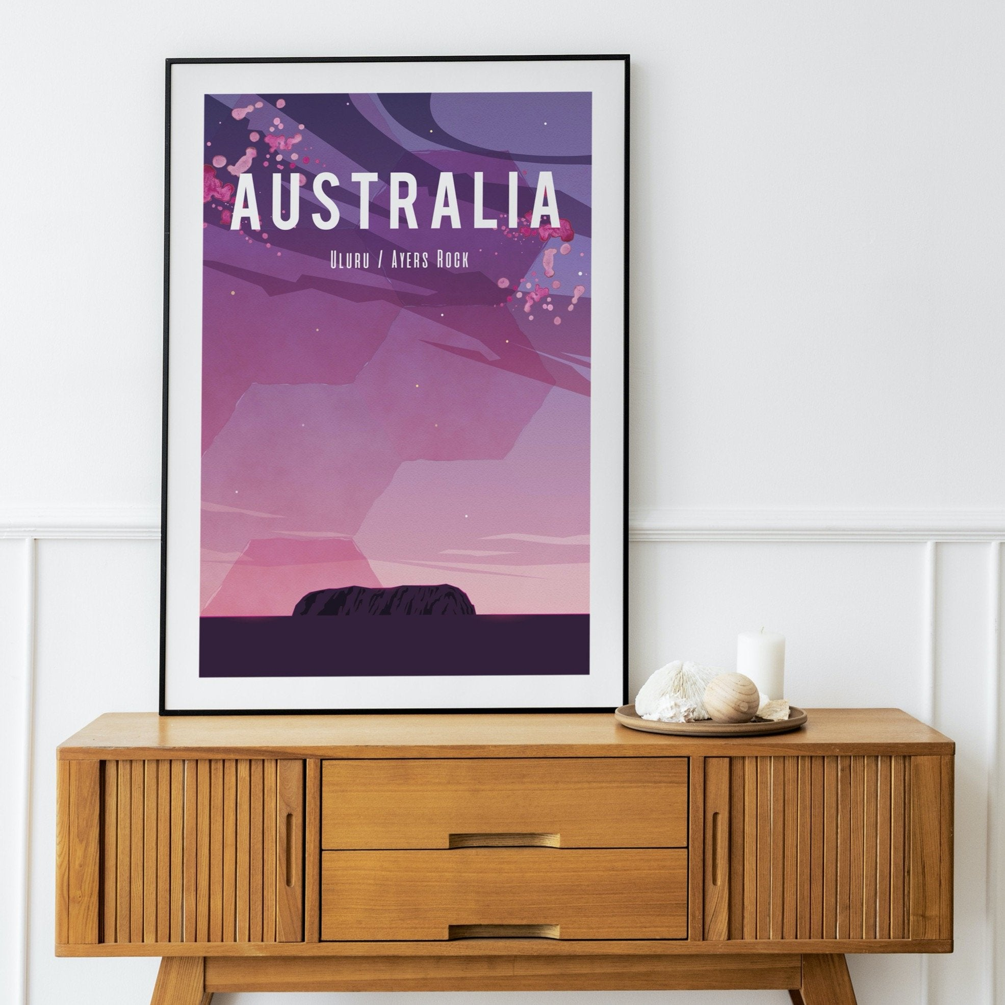 Ayers Rock, Australia fine art travel print