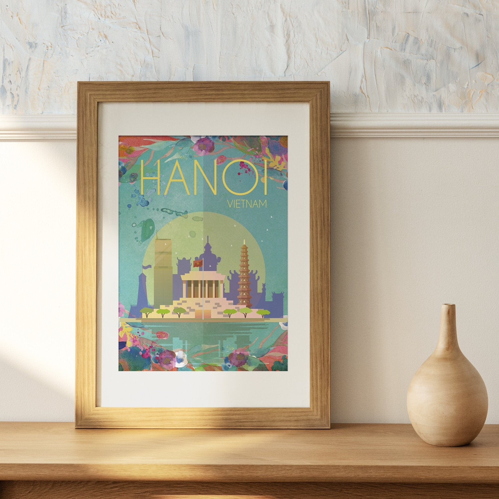 Hanoi, Vietnam fine art travel print