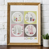 London graphic art print
