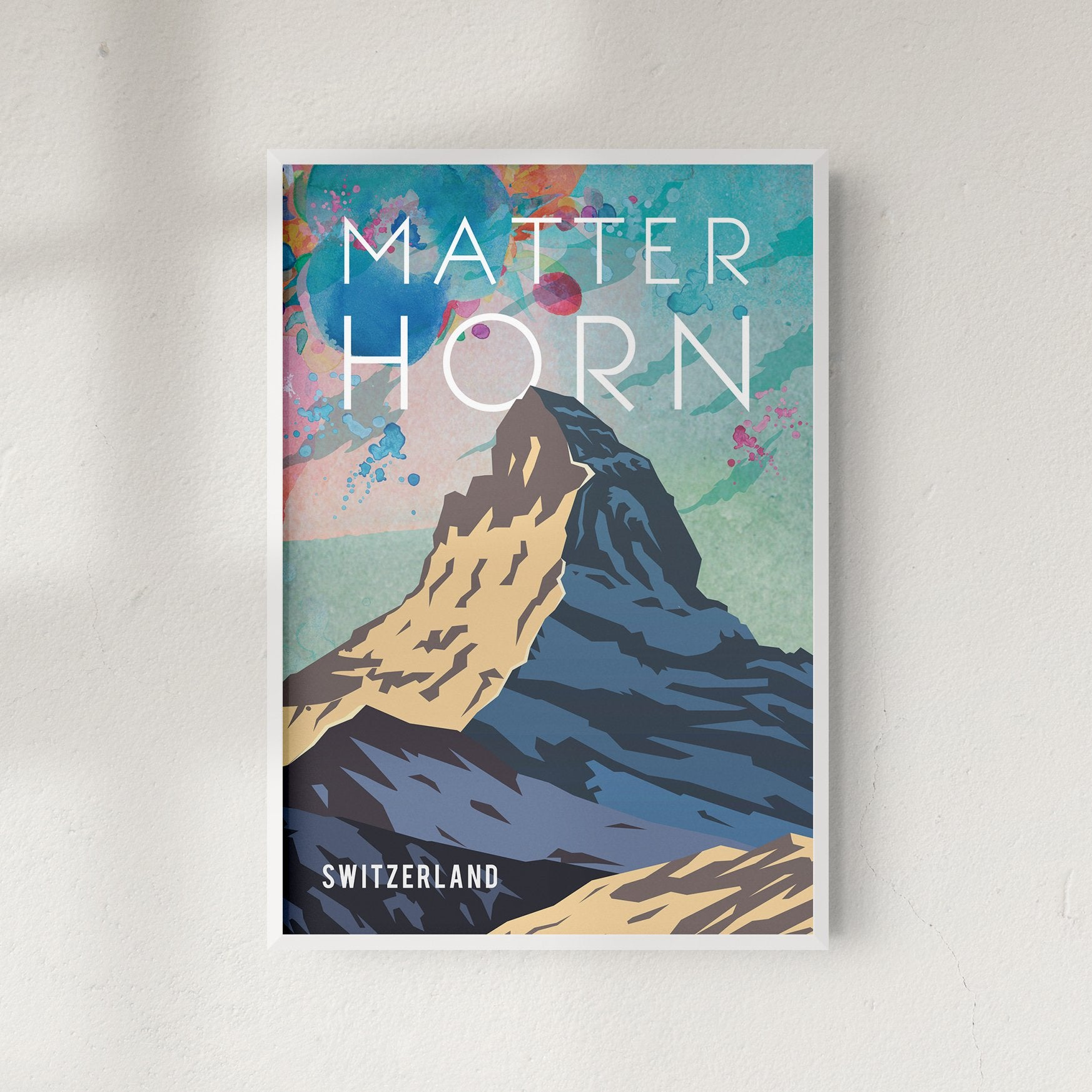 Matternhorn fine art travel print