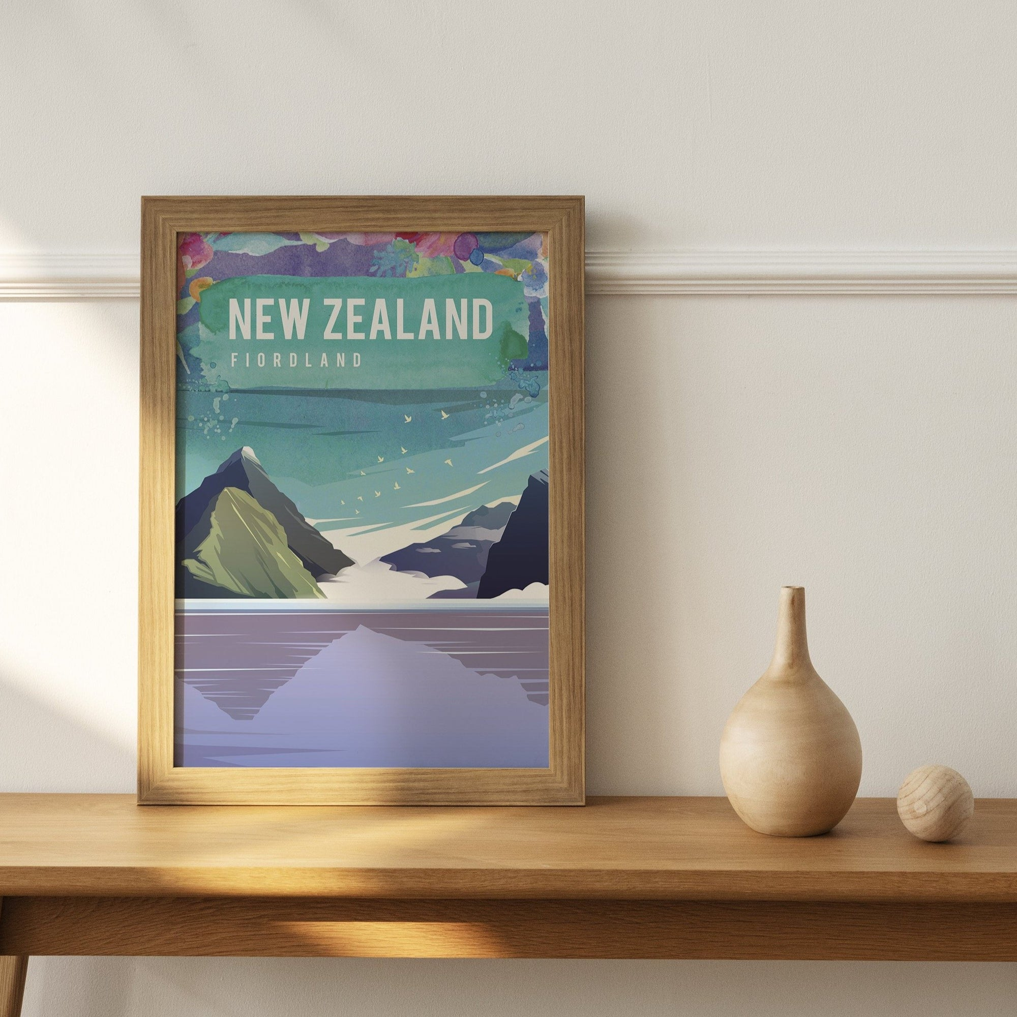 New Zealand, Fiordland fine art travel print