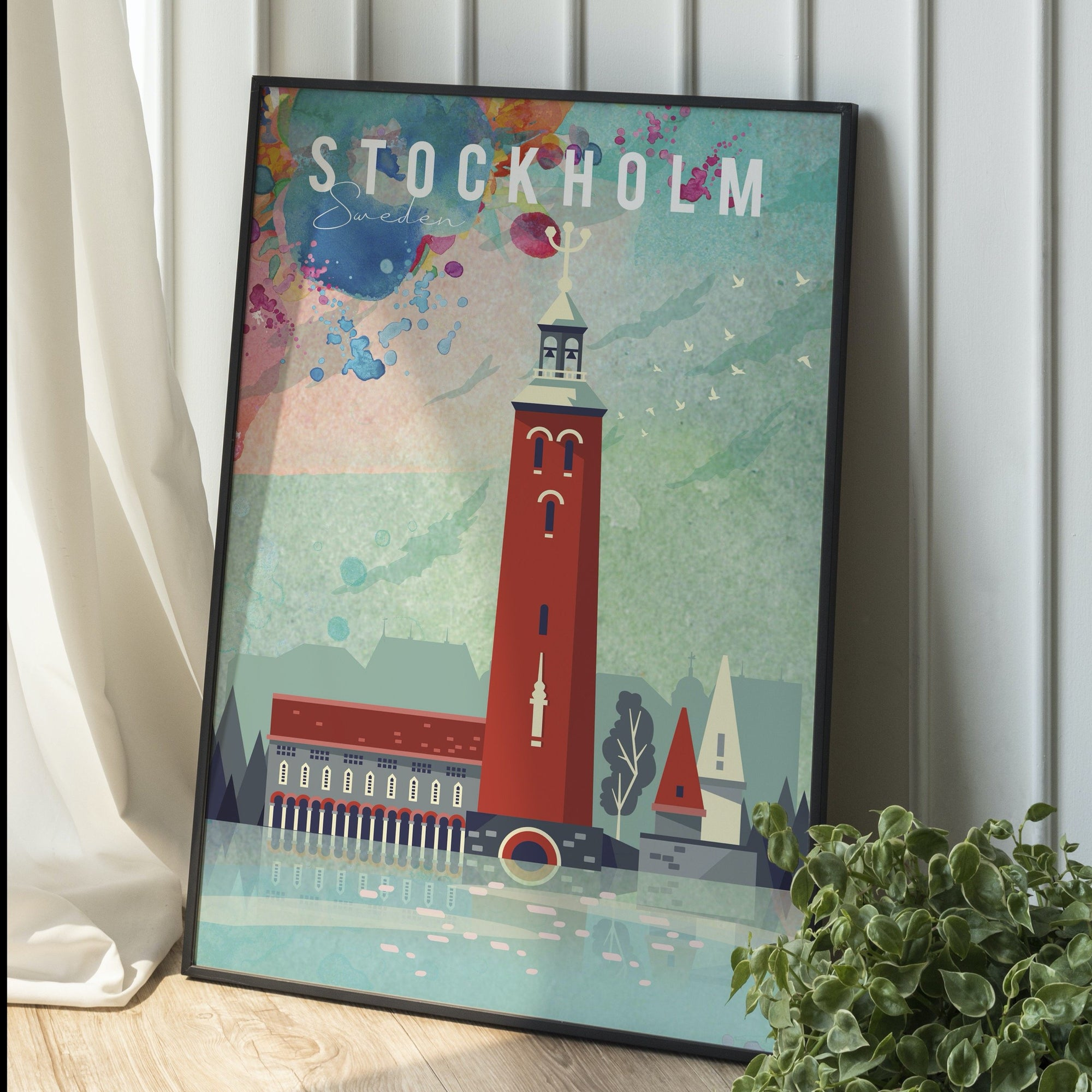 Stockholm, Sweden fine art travel print