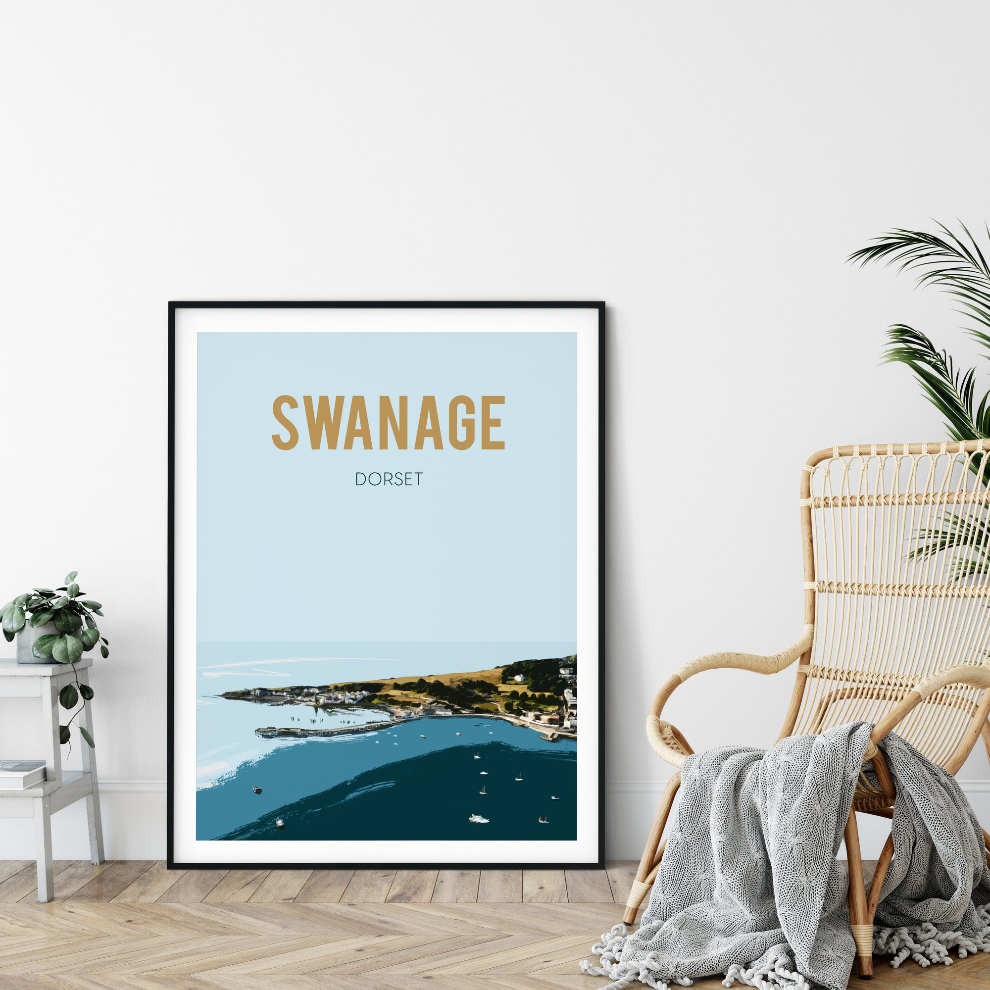 Swanage, Dorset fine art print - UNFRAMED