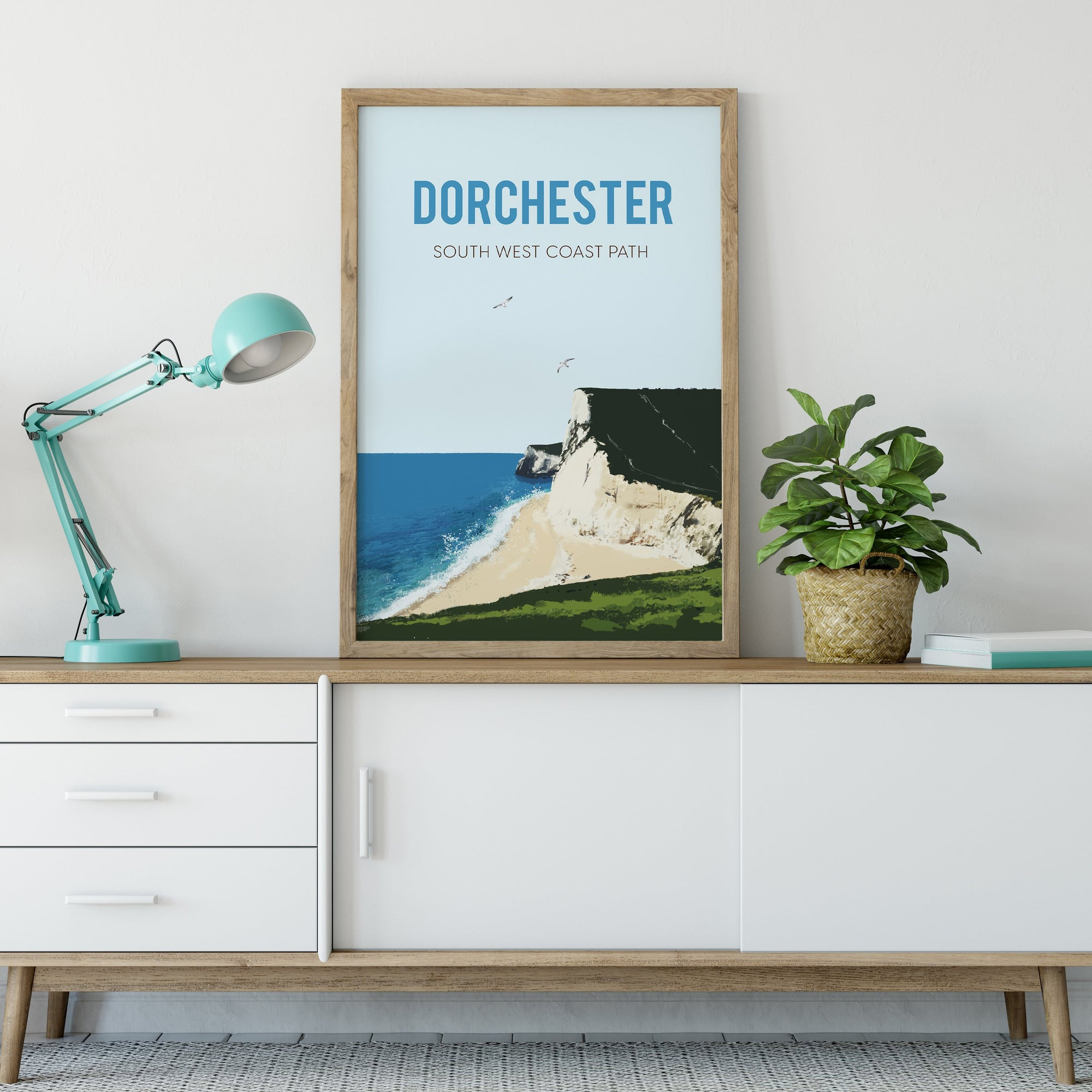 South West Coastal Path, Dorchester - UNFRAMED