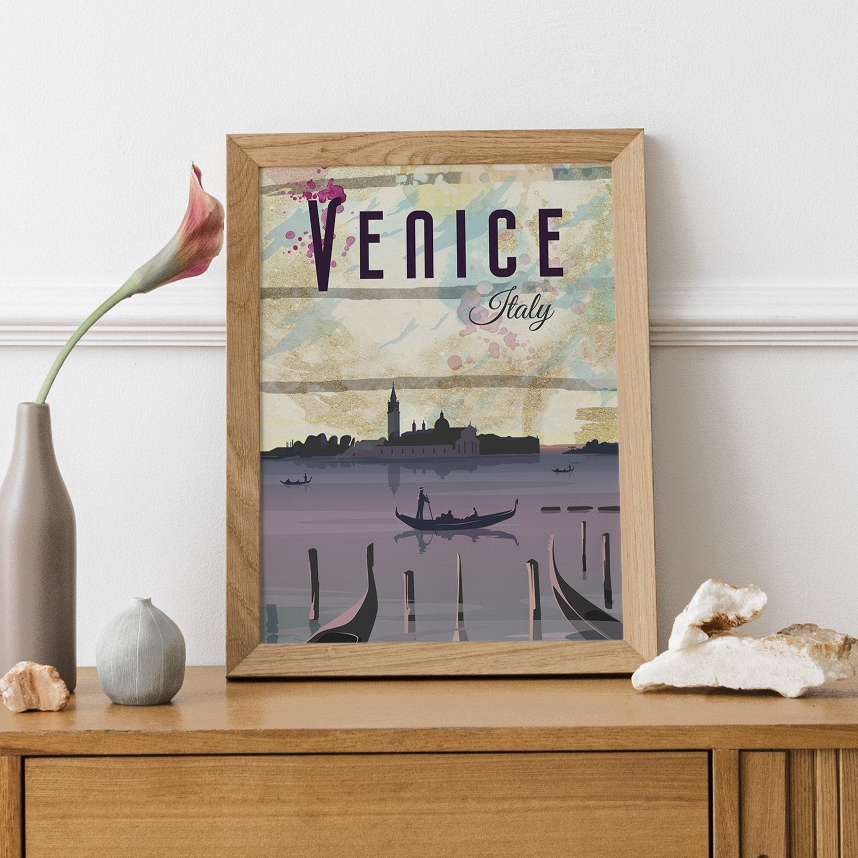 Venice, Italy, The Bell Tower fine art travel print