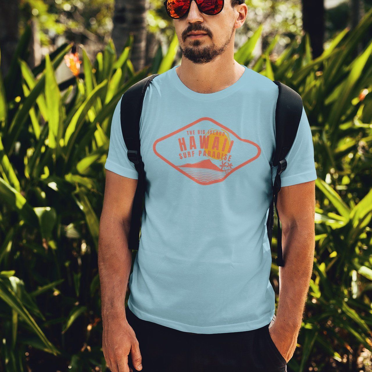 Hawaii Surf Paradise Short sleeve t-shirt
