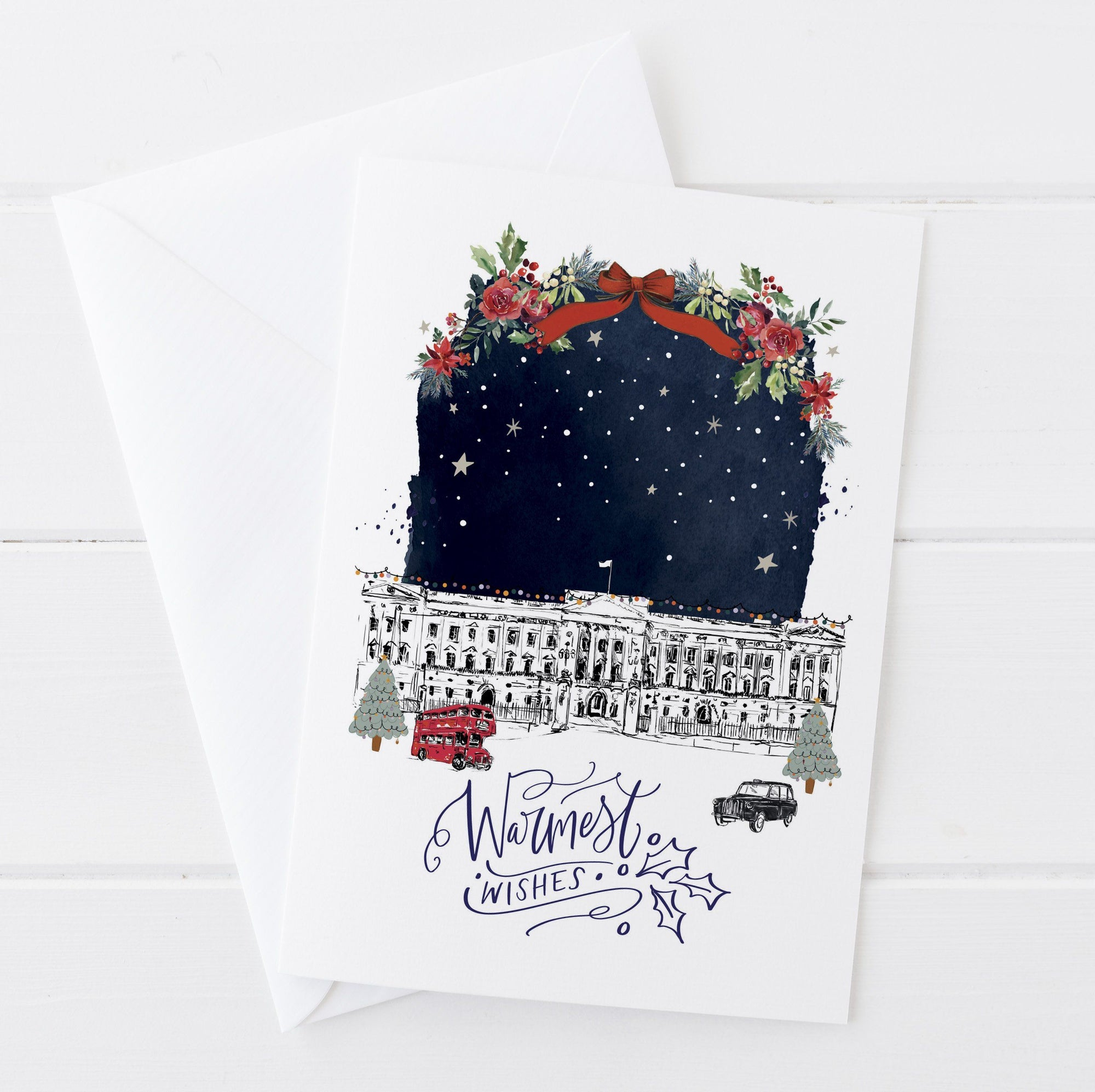 Buckingham Palace Christmas Card